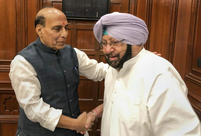 During the 30-minute meeting, the chief minister apprised the Home Minister of the law and order situation in Punjab, including issues related to attempts to create disturbance in the state through targeted killings.