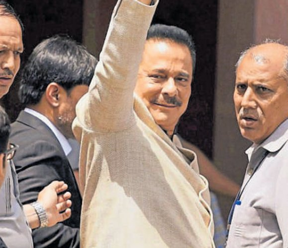 Subrata Roy, who has spent almost two years in jail, has been on parole since May 6 last year. (PTI file photo)