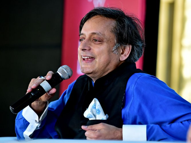 Congress MP Shashi Tharoor (PTI file photo)