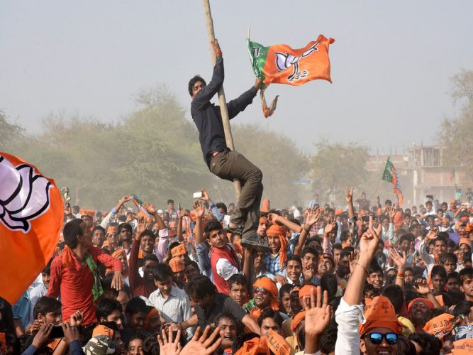 """UP BJP general secretary Pankaj Singh exuded confidence that even in future elections, the BJP will give a befitting reply to any possible coalition of parties through welfare-centric schemes for the public, the dedication of the party workers and the commitment to make Uttar Pradesh a developed state (""""vikasit pradesh"""") in the country."""