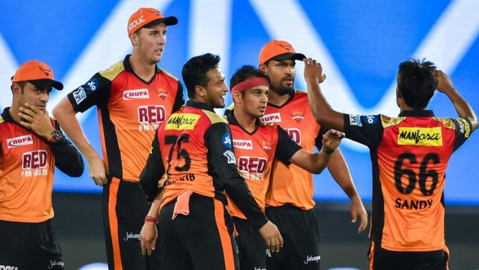 Both the Sunrisers and the Super Kings have six points each from four matches, having lost just one game so far, and a win by either side at the Rajiv Gandhi International Stadium at Uppal will take them to the top of the table. PTI Photo