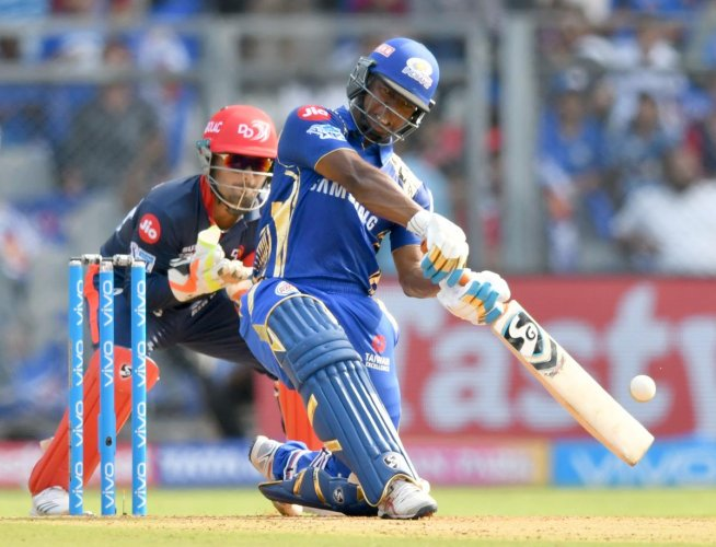 Two-time champions Mumbai Indians were off to a horrible start this season, suffering three successive reverses, before skipper Rohit Sharma came to the team's rescue with a blazing 94 against Royal Challengers Bangalore. PTI Photo