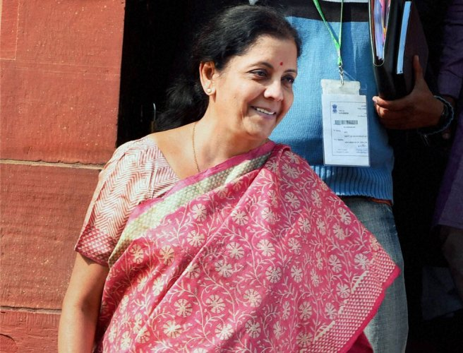Defence Minister Nirmala Sitharaman will leave for China on Monday. PTI File Photo