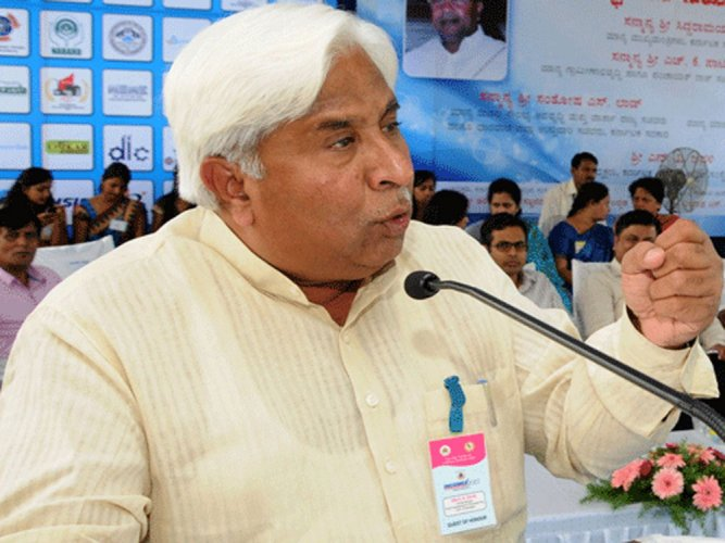Rural Development and Panchayat Raj Minister H K Patil. DH File Photo