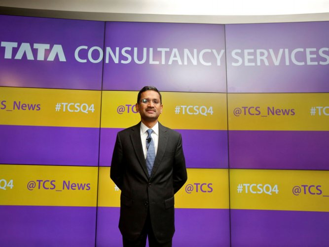 Rajesh Gopinathan,CEO and Managing Director of Tata Consultancy Services.