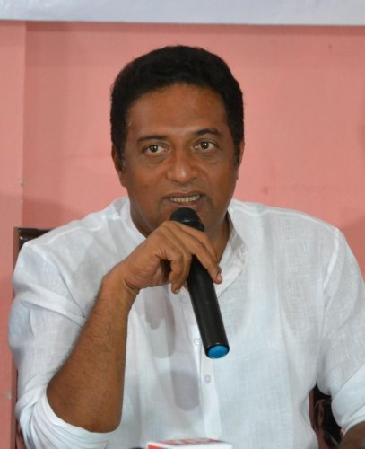 Actor Prakash Rai.