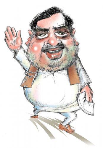 Ambareesh caricature