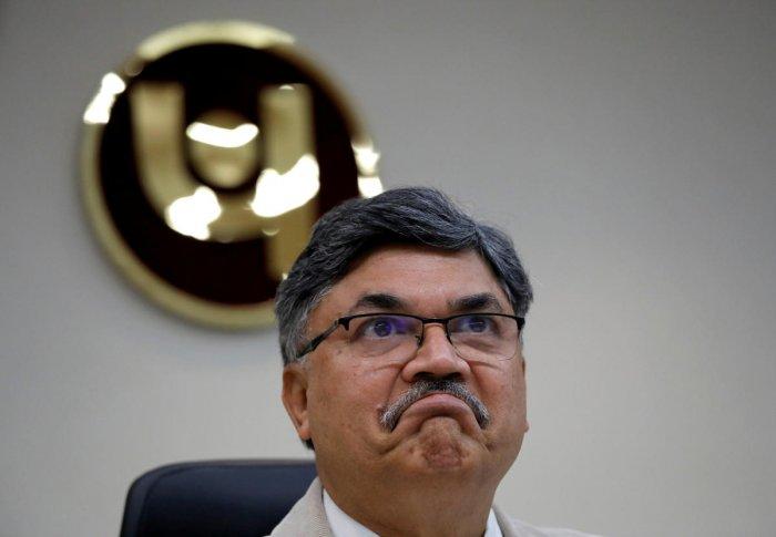 Sunil Mehta, chief executive officer of Punjab National Bank. Reuters photo