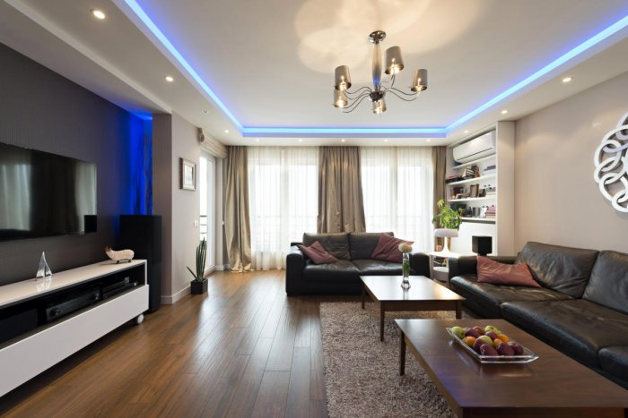 For a classy look, make sure the lighting and the colour tones complement each other.