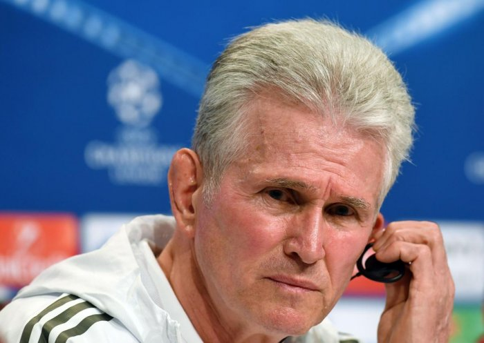 Bayern Munich's coach Jupp Heynckes said his side hasn't given up despite the defeat in the semifinal first leg against Real Madrid. AFP