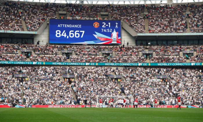The English Football Association has received an offer from U S billionaire Shahid Khan to buy the Wembley Stadium. Reuters