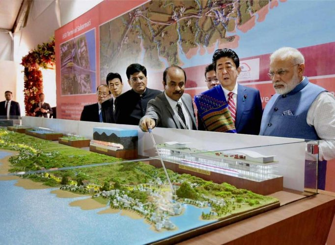 The bullet train project is expected to run between Mumbai and Ahmedabad. (PTI file photo)