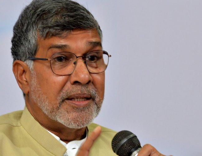 Nobel laureate Kailash Sathyarthi. DH File Photo