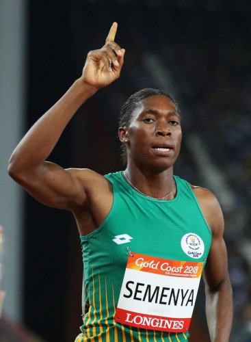 HARD LIFE: Semenya has faced uncomfortable questions about her gender ever since she burst into the spotlight at the 2009 World Championships. Reuters