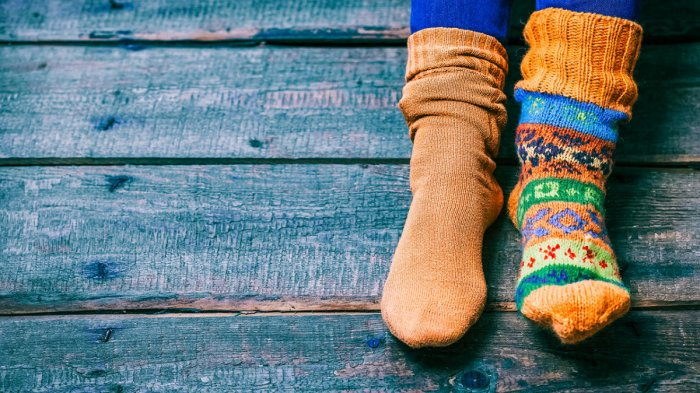 The case of the mismatched pair of socks
