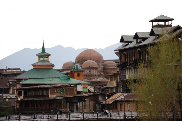 Downtown KashmirPhoto by author