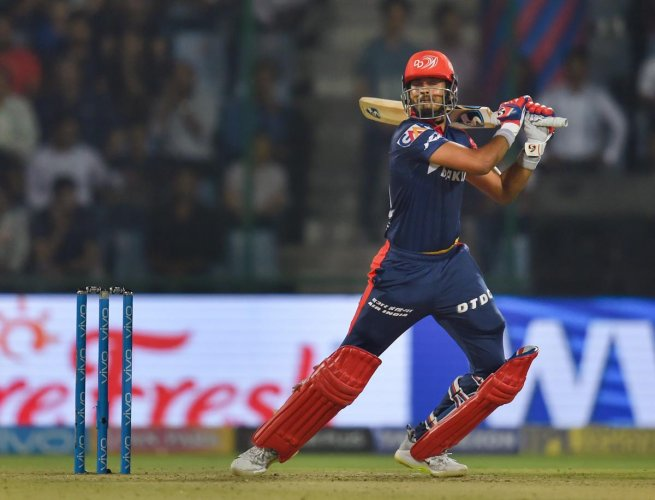 Shreyas Iyer stroked an imposing 93 not out on captaincy debut and spearheaded Delhi Daredevils to a morale-boosting 55-run win over Kolkata Knight Riders in the Indian Premier League.