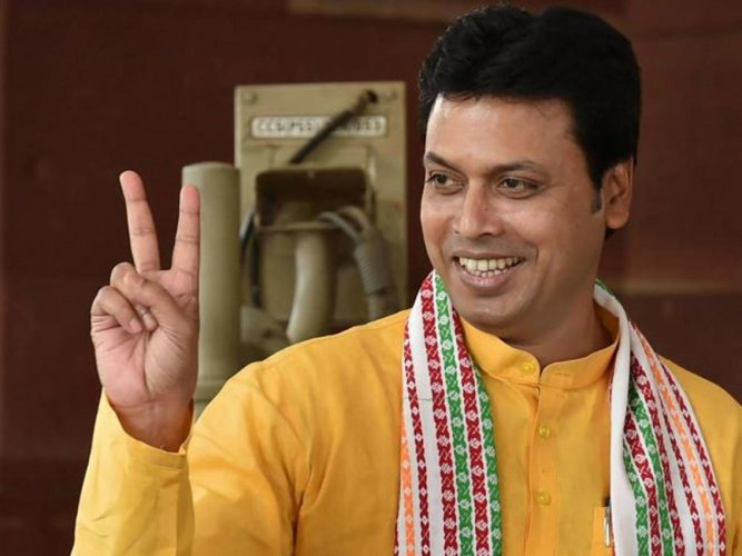 Days after courting a controversy with his remarks against former Miss World Diana Hayden, Tripura Chief Minister Biplab Deb now thinks civil engineers are better suited for civil services as compared to mechanical engineers. PTI file photo