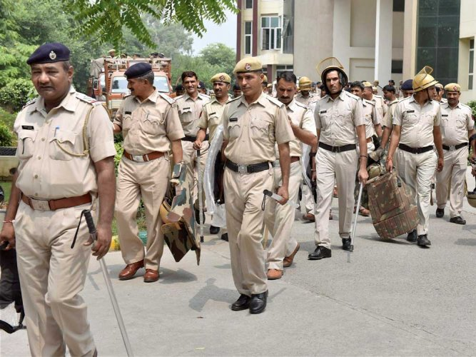 Police had to resort to baton charge to disperse the mob, sources said adding that over a dozen people, including some cops, were injured in the clashes. (PTI file photo)