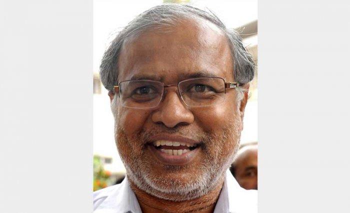 BJP candidate S Suresh Kumar.