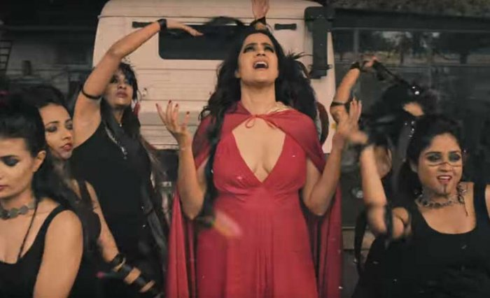 """A still from singer Sona Mohapatra's new music video """"Tori Surat"""". Screengrab from Youtube."""