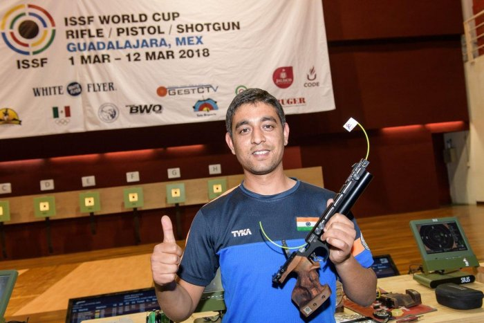 ON A HIGH: Rizvi shot to the numero uno spot with 1654 rating points.