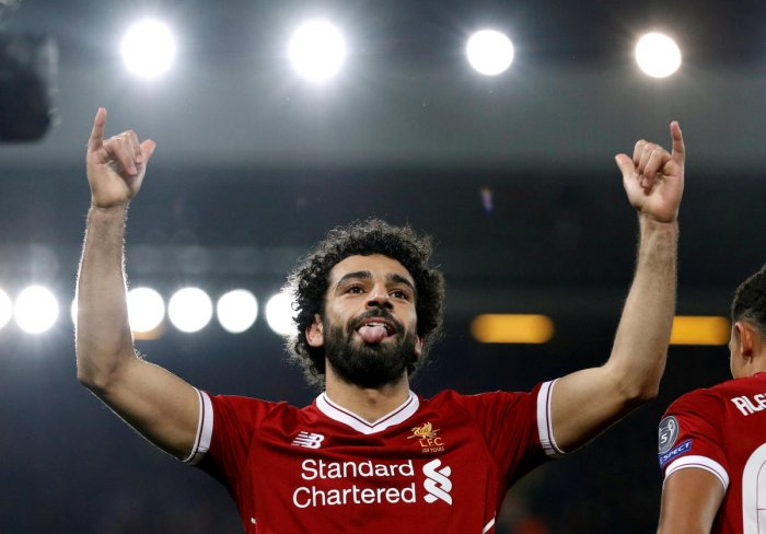 ALL EYES ON HIM! Liverpool's Egyptian midfielder Mohamed Salah has shot to stardom thanks to his goal-scoring exploits in England and Europe. REUTERS