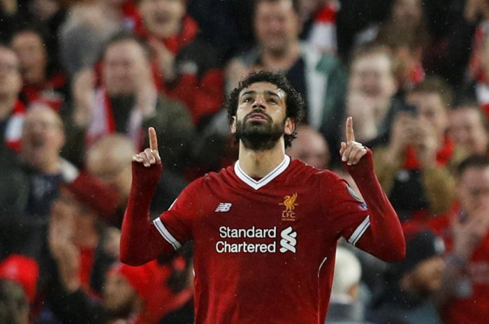 Prolific scorer Mohamed Salah will be the key to Liverpool's hopes of making the Champions League final. REUTERS