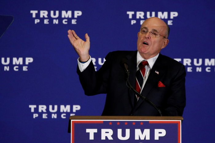 Rudy Giuliani. Reuters file photo.