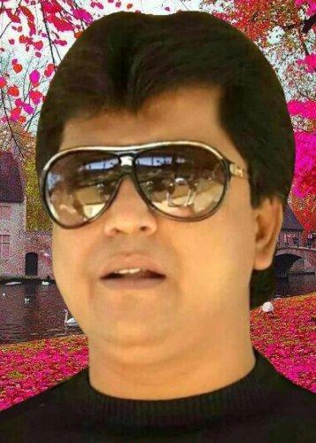 Chamarajpet assembly constituency JDs candidate B K Althaf Khan.Chamarajpet