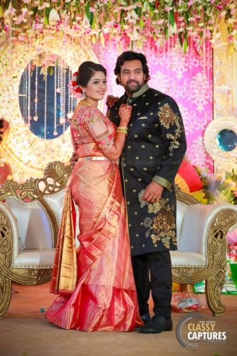 Meghana and Chiranjeevi