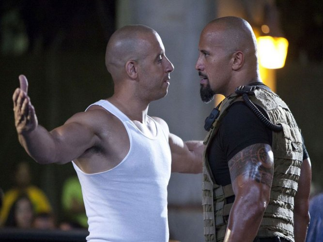 Vin Diesel in a still from Fast & Furious. File photo.