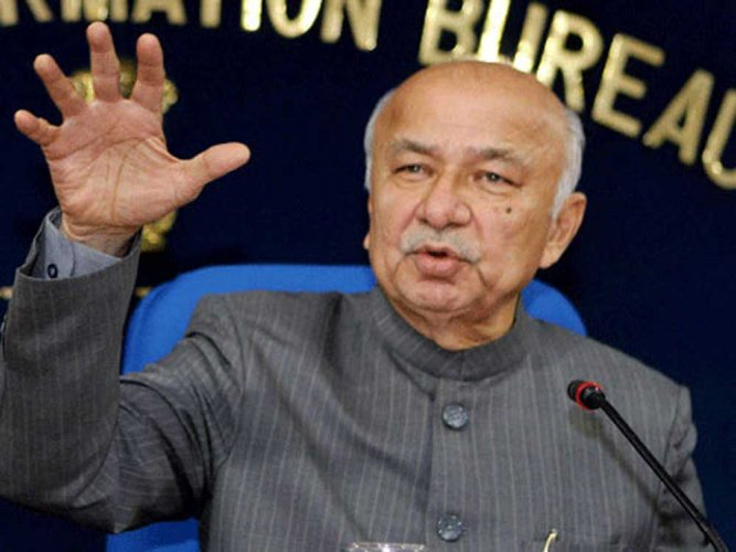 Former Union minister and Congress leader Sushilkumar Shinde