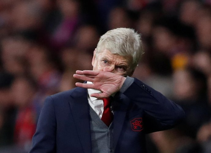 The defeat ends Wenger's hopes of leaving Arsenal on a high. Reuters