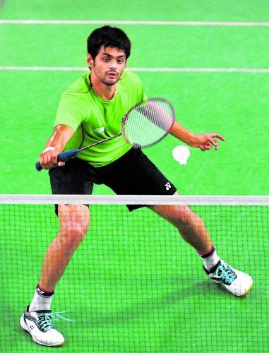 India's B Sai Praneeth booked a semifinal berth at the New Zealand Open. DH FILE PHOTO