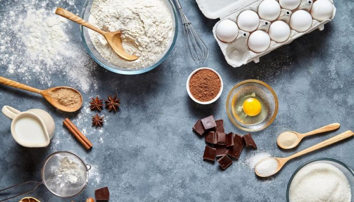Baking is all about following the recipe.