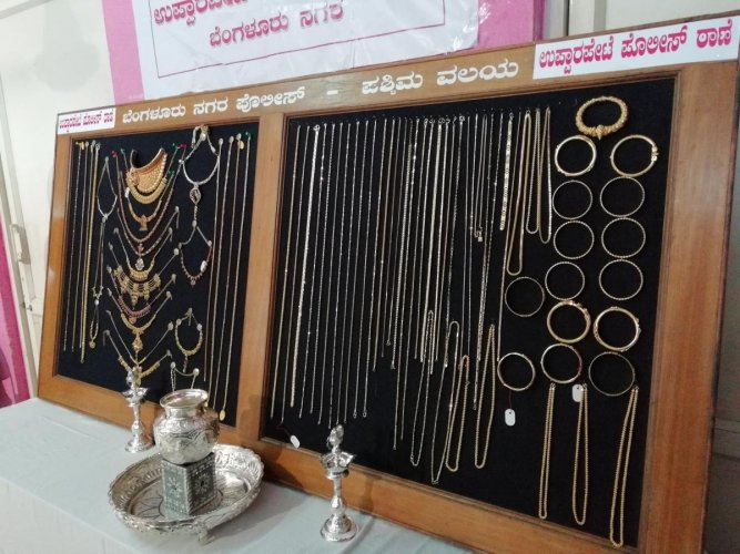 The West division police also recovered gold jewellery and a two-wheeler worth Rs 60 lakh.