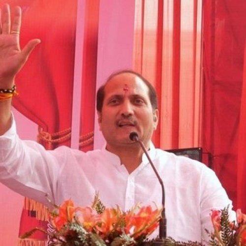 Uttar Pradesh minister Suresh Rana.