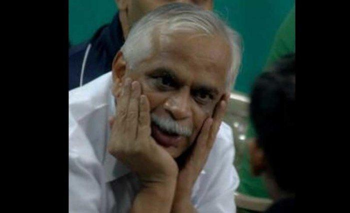 Vijaykumar, aged 59, was a two-time MLA from Jayanagar. Image Courtesy: Twitter