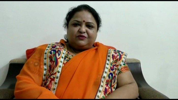 Basic Education Minister Anupama Jaiswal. Image courtesy: Twitter