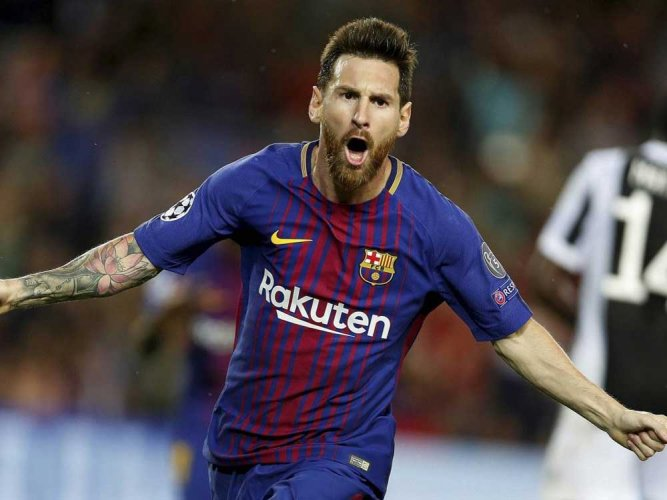 Lionel Messi. AP/PTI file photo