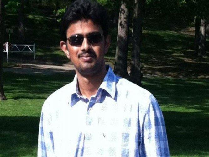 Srinivas Kuchibhotla, 32, was killed in the assault in the Kansas City suburb of Olathe. Image Courtesy: Twitter