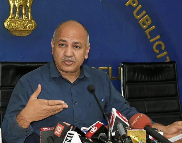 Delhi Deputy Chief Minister Manish Sisodia. PTI Photo