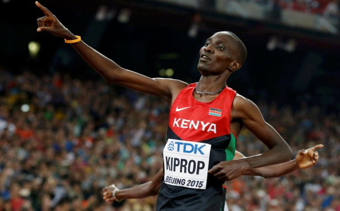 IN DEEP MESS Olympic champion Asbel Kiprop, one of Kenya's most decorated athletes, stares at a four-year ban. REUTERS