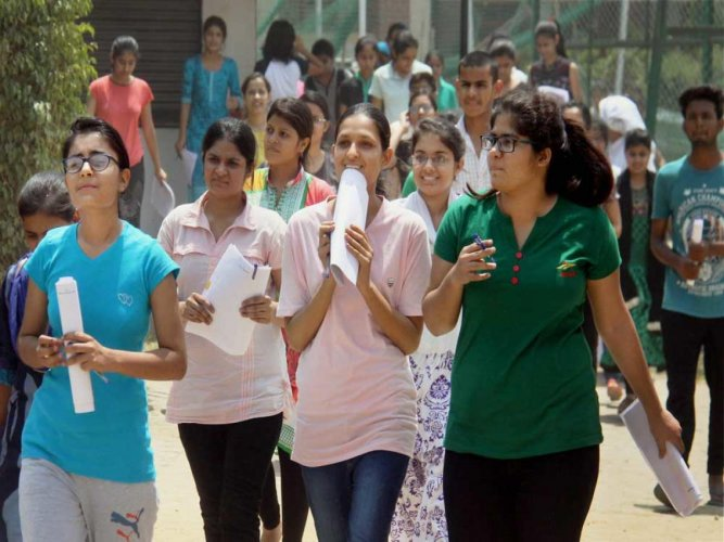 NEET is scheduled to be held on Sunday. DH file photo