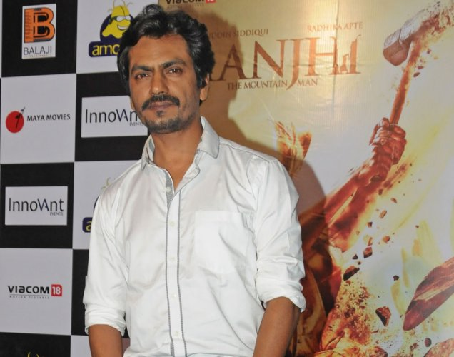 Nawazuddin Siddiqui is considered to be one of the few actors who can straddle both commercial Bollywood and independent film genres, putting him in high demand. File Photo