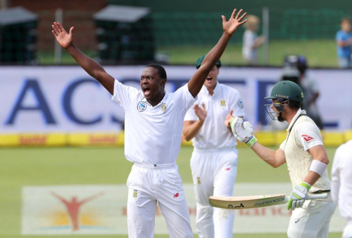 South African great Allan Donald feels Kagiso Rabada (left) is the best young fast bowler in the world currently. REUTERS