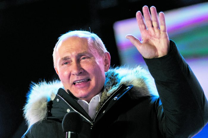 Vladimir Putin who will turn 72 in 2024, could decide to leave the Kremlin after 24 years in power, making way for a successor. AP/PTI Photo