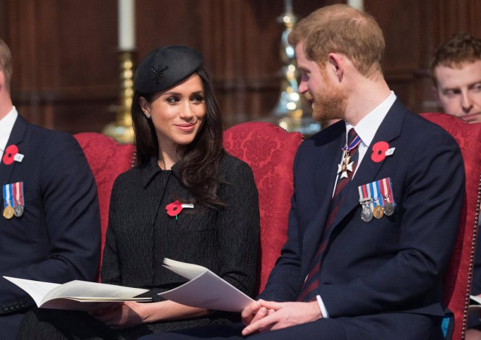 Britain's Prince Harry and his fiancee Meghan Markle. Reuters Photo
