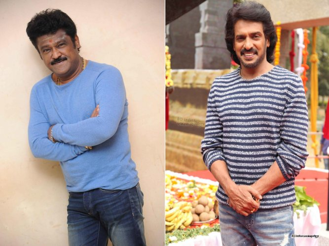 Jaggesh and Upendra.